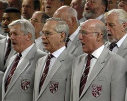 The Croydon Male Voice Choir, performing its first concert of 2014 this Saturday