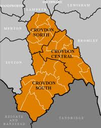 Croydon is divided into 24 wards within three parliamentary constituencies - though the latter seem likely to change under Boundary Commissioners recommendations
