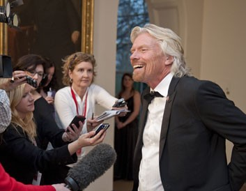 "So, ""Dr"" Branson... pilot, train driver or medical professional - is there nothing that Sir Richard cannot do?"