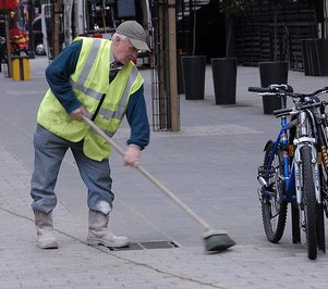 Front line services, such as bin collections, lollipop road patrols and street cleaning, have been cut-back, while the council's back office has thrived