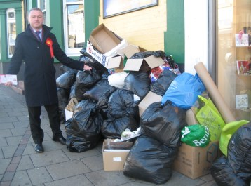 Steve Reed is unimpressed by the state of Croydon's streets