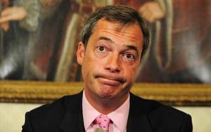 "UKIP leader, Nigel Farage: seems to think ""Chump"" McKenzie offers something to UKIP"
