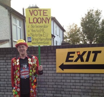 The next leader of the Croydon Tories? A campaign picture that says so much