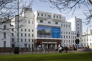 Under threat: St Helier Hospital in Sutton