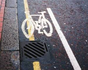 In the gutter: that's where Croydon Council seems to think that cyclists belong