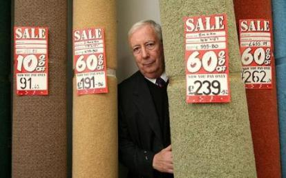Conservative party donor and carpet salesman Lord Harris: has been handed public assets at Roke Primary
