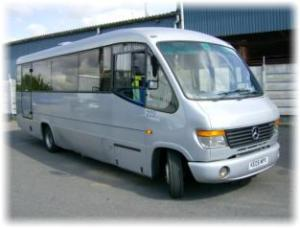 One of Olympic South's mini-buses