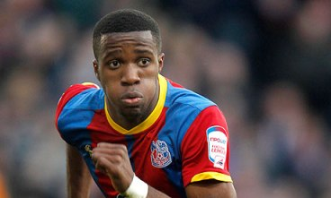 On his way: Wilf Zaha, a £15m transfer from Palace to Manchester United