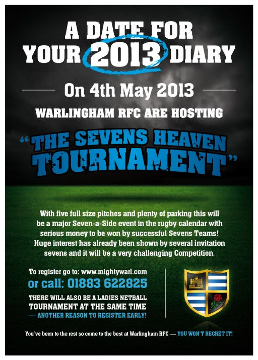 Warlingham Sevens Heaven flyer