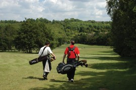 A long walk spoiled? Not if you keep your ball on the wide fairways at Addington Court
