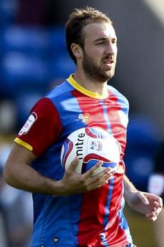 Goal-scorer Glenn Murray: could be key to Palace's play-off chances