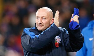 Ian Holloway: don't step on the grass