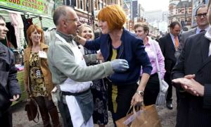 "Mary Portas ""Queen of the High Street"", visiting Croydon last year: there's been little progress since"