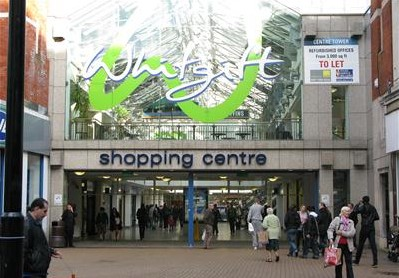 The Whitgift Centre, subject to plans for a £1bn makeover by Hammerson and Westfield: the freehold is owned by the Whitgift Foundation, where Councillor Dudley Mead has several interests - none of which appear to have been declared with the council
