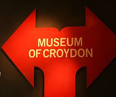 Museum of Croydon sign