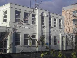 In need of an overhaul: this part of the Purley Hospital opened in 1940