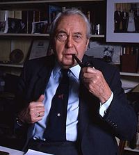 Hardly a three-pipe problem: former Labour leader Harold Wilson, selected only by his MPs