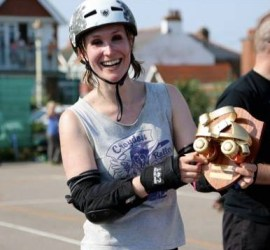 CRD's Captain Apocalex with the Golden Skate won in Eastbourne