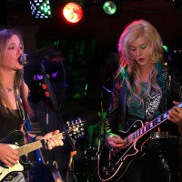 Direct from Hollywood, California... Lora G and Nikki Lunden are the headline act on the opening night of Downstairs at Patrick's