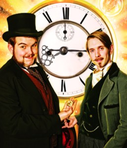 Time travelling magicians: Morgan and West