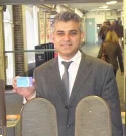 Sadiq Khan: sounded gloomy when returned as Tooting MP