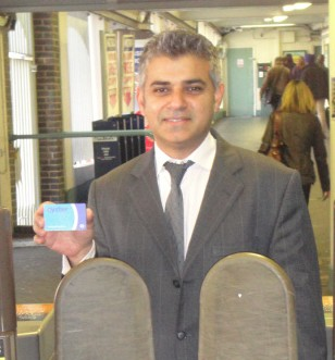 Tickets please: Tooting MP Sadiq Khan has launched a petition to save TfL-operated ticket offices and to call for a fares freeze