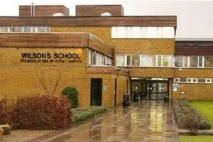 Top marks: Wilson's School, just the other side of the borough boundary in Sutton. But it might be in another world compared to some Croydon schools