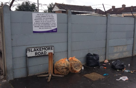 It is all very well Croydon Council warning of a £50,000 fine for fly tipping, but such a deterrent needs to be backed up by action
