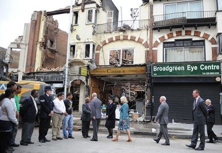 A fortnight after the 2011 riots, Prince Charles and the Duchess of Cornwall visited London Road and met residents affected. Now the local MP has written to him for help