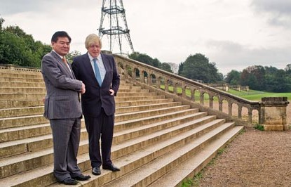 """""""Do what you like. We'll take your cash, and we won't tell the locals"""", is what someone might have said when Boris Johnson and  Chinese developer Ni Zhao met at last year's  announcement for the new Crystal Palace"""