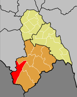 Coulsdon West ward runs all the way from the county boundary to the centre of Purley