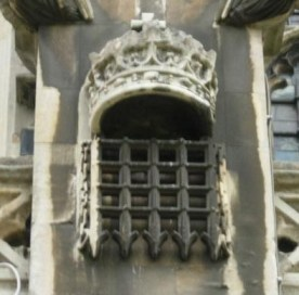 The House of Commons portcullis: a royal symbol, not to be used for political party recruitment drives
