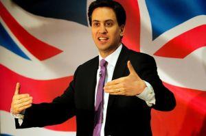 Ed Miliband: visiting Crystal Palace