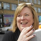 Elizabeth Ash: in charge of CCC, but claims not to have any control over its £5,000 council grant