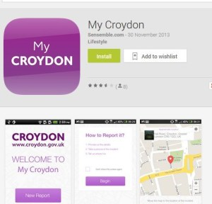 Purple phase: How's Sensemble is listed as the creators of My Croydon, which launched on Nov 30 last year. Sensemble was incorporated on Nov 8