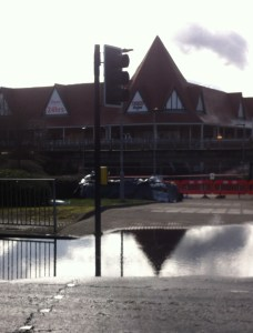 Tesco at Purley has provided car parking for those residents whose vehicles have been displaced by the flooding