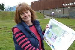 Soon-to-be-ex-councillor Helen Pollard: no way back on to the council on this map