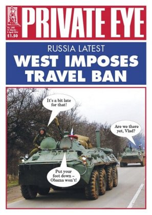 Private Eye today