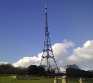 The landmark TV tower at the top of Crystal Palace Park: what will the Chinese developers do with the site on the terracing alongside the tower?