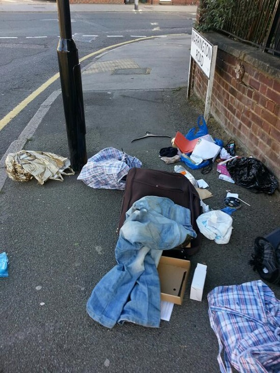 The corner of Warrington Road and Epsom Road, Apr 16 2014