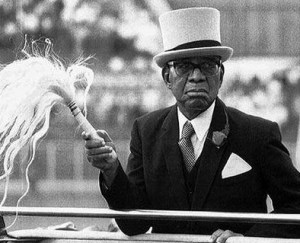 Hastings Banda in 1992, making a rare public appearance in his 95th year
