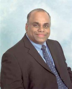Patrick Ratnaraja: standing for the Conservatives in West Thornton
