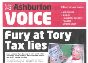 The Labour Party's response to the Conservatives' false claims on Council Tax