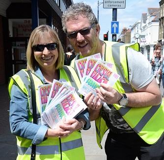 "Volunteers need to be ""fun-loving and flexible"". And wear hi-viz vests"