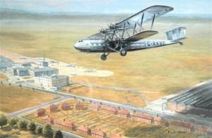 Croydon Airport c 1920s