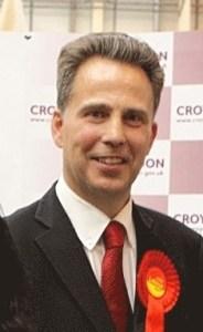 Councillor Stuart Collins: impressed