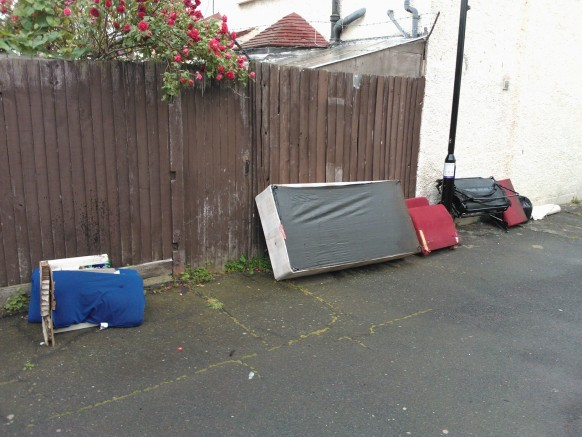 And more dumped items in Thornton Heath