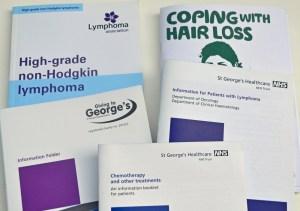 Susan Oliver cancer leaflets