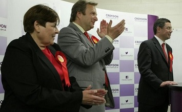 Waddon's three councillors, (from left) Joy Prince, Andrew Pelling and Robert Canning