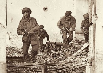 We will remember them: British paratroopers during the Battle of Arnhem in 1944